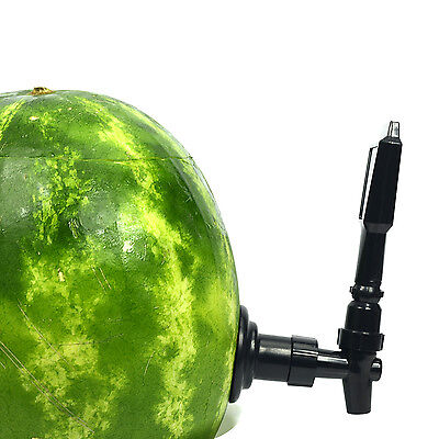 Watermelon DIY Keg Tap Kit w/ Coring Tool, Large Fruit Beverage Dispenser Party