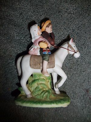 Norman Rockwell Museum 1984 Off To School Figurine - Taiwan