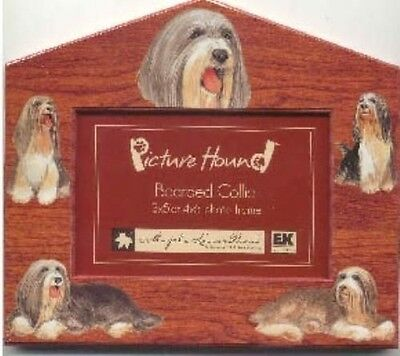 Dog Breed Frame BEARDED COLLIE Cute Picture Frame CLEARANCE SALE