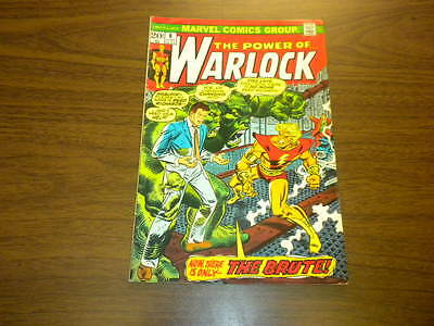 WARLOCK - THE POWER OF #6 Marvel Comics 1973