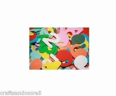 Foam Numbers ~ 2.5cm ~ Great for Crafts ~ 300 Pieces ~ New