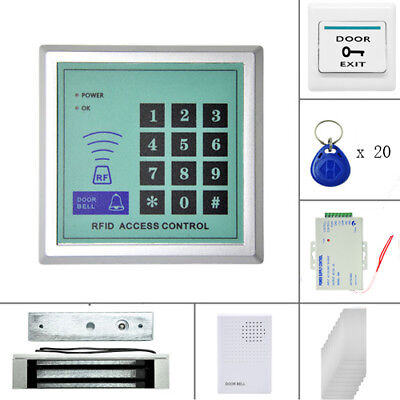 180kg Electric Door Locks Magnetic Fingerprint Password Access Control System