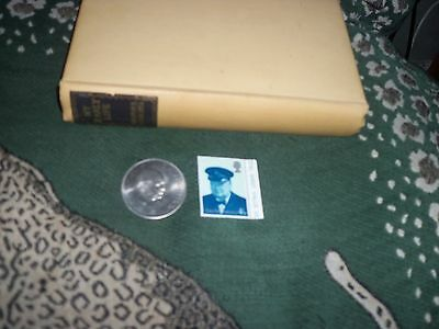 Winston Churchill Book (1944) Crown 1965 /stamp 1974