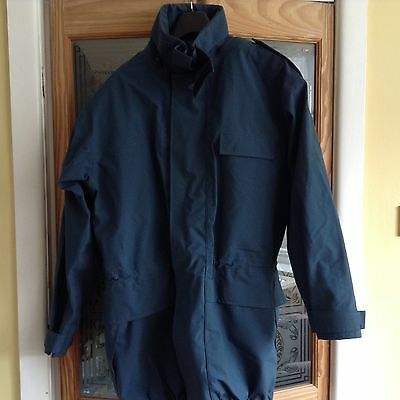British Royal Navy Issue Goretex Foul Weather Jacket With Liner
