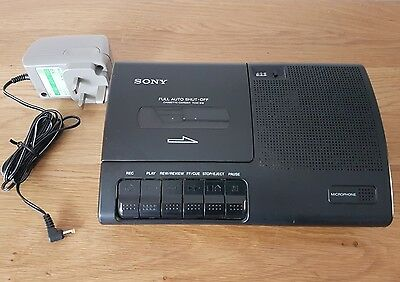 Sony Tcm-919 Portable Cassette Tape Recorder/player