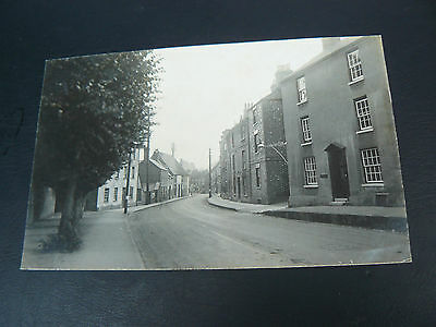 Real Photo RP Postcard - Faringdon - Gloucester Street - Oxfordshire