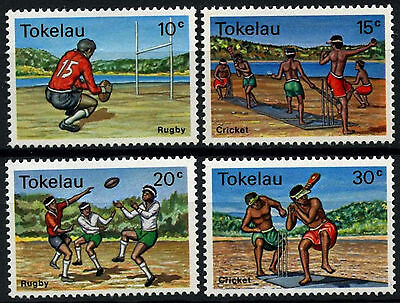 Tokelau 1979 SG#69-72 Local Sports MNH Set #D49854