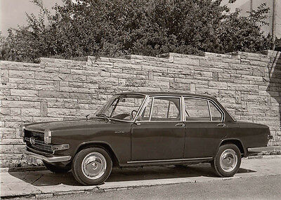Glas 1700 Four Door Saloon Period Photograph.