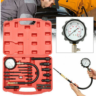Diesel Engine Compression Tester Tool Kit For Direct Indirect Injection Engines