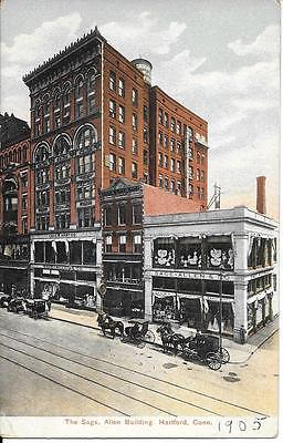 The Sage, Allen Building Hartford CT nice postcard not postally used