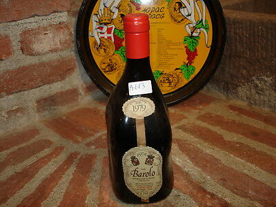 (A113) VINO Gattinara Barbaresco Brunello Barolo BARNI 1979