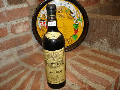 (A107) VINO Gattinara Barbaresco Brunello Barolo BARNI 1964