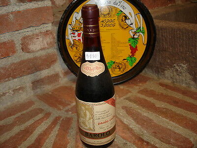 (A110) VINO Gattinara Barbaresco Brunello Barolo PAOLO COLLA 1974
