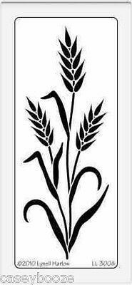 Dreamweaver Stainless Steel Embossing Stencil - Tall Wheat - New