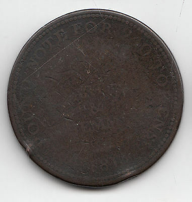 Gb Redditch 1D Token C1800      127D                   By Coinmountain