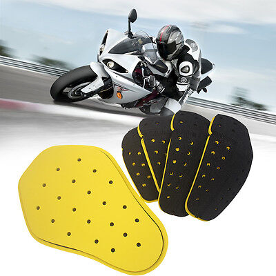 5-PC Foam Padded TPU Plastic Armor for Motorcycle Bike Jackets NEW HQ