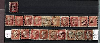 Great Britain Gb  Penny Reds Fine    (Fay11