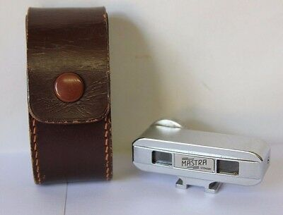 Mastra Germany Rangefinder  Meter with Case Measures in Feet