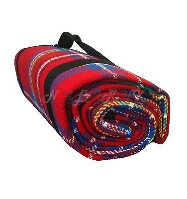 Travel rug picknic blanket / seat cover / picnic festival 180 x 120 SOFT fleece