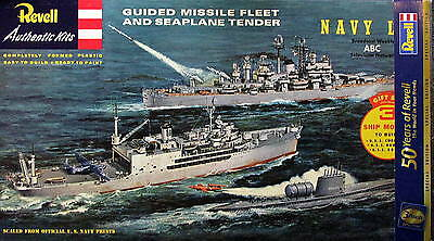 Revell/GermanyG333 Guided Missile Fleet&Seaplane TenderGiftSetLtdEd(LASTONE@100)