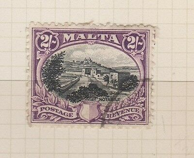 MALTA 179 2sh Notabile used