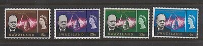 SWAZILAND 255-8 1966 Churchill used set