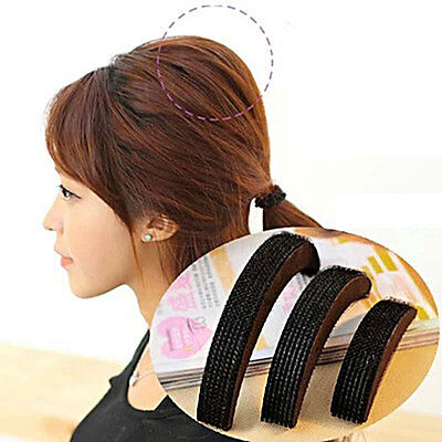 Women Hair Styling Clip Stick Bun Maker Braid Tool Hair Accessories Black