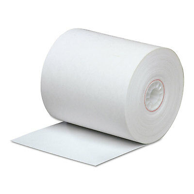 """Direct Thermal Printing Thermal Paper Rolls, 3 1/4"""" X 85 Ft, White, 50/carton-PM"""