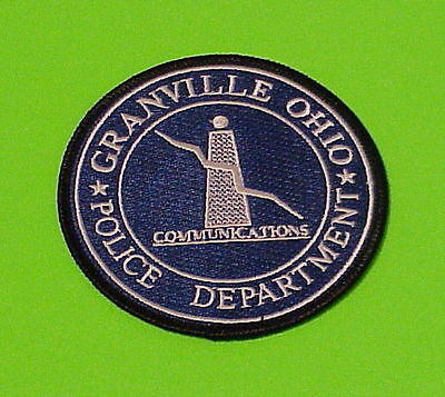 Granville  Ohio  Oh   Communications   Police Patch   Free Shipping!!!