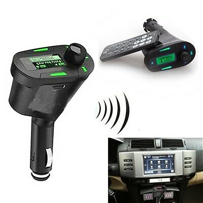 Voiture Sans Fil FM Transmetteur Transmitter Car MP3 Player USB TF MMC + Remote