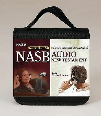 NASB Audio New Testament with Carrying Case