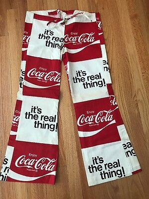 1950's Vintage Coca-Cola Bell Bottom Pants / Boys 33x27 / Deadstock