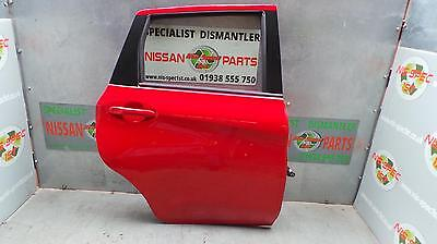 Nissan Note E12 Drivers Right Rear Door Osr See Comments