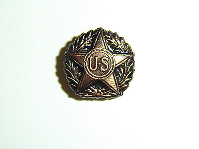 b2549 WW1 US Army Service Lapel Honorable Discharge Pin A10B9