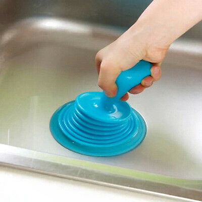 Household Powerful Sink Drain Pipe Pipeline Dredge Suction Cup Toilet PlungersHF