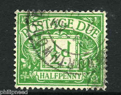 1937 1/2d POSTAGE DUE SG D19 USED NORTHWOOD POSTMARK [N32
