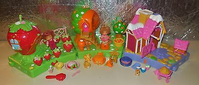Strawberry Shortcake Doll Miniature Berry Happy Home Cute House Pieces Set Lot