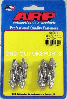 Arp Valve Cover Stud Kit 400-7611 Stamped Steel Covers 1/4-20 Size Qty 8