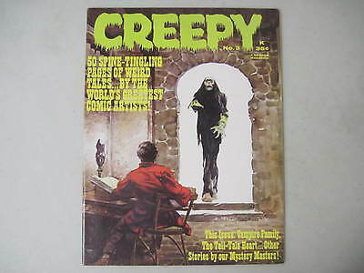Creepy #3 Warren Horror Magazine 1965 Frank Frazetta Cover Al Williamson