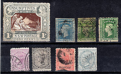 QV Australia/New South Wales range including SG280 Charity 1/-