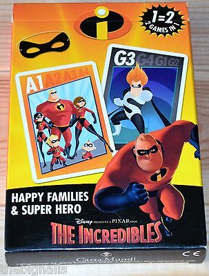 The Incredibles Card Game  sealed pack new