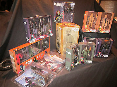 NECA Planet of the Apes Action Figures (Complete Set of 15 with Exclusives)
