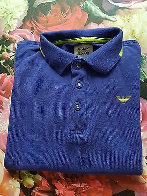 🌟Genuine⭐ Kids Boys ARMANI Jr Polo T Shirt Jumper Top Jeans Shorts Top AGE 6 5