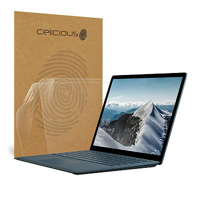 Celicious Vivid Microsoft Surface Laptop Invisible Screen Protector [Pack of 2]