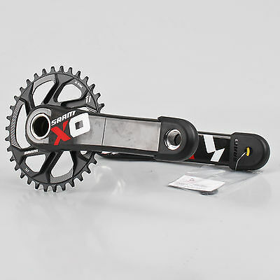SRAM X01 Mountain Bike Crank Set 175mm GXP Carbon Crankarms 34T