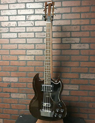 GIBSON EB-3 vintage slotted headstock bass short scale