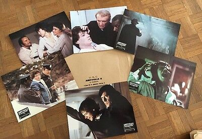 AMITYVILLE II  !  jeu 6 photos cinema lobby cards epouvante fantastique