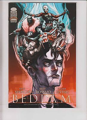 Bedlam #1 VF/NM nick spencer - riley rossmo - limited variant - image comics