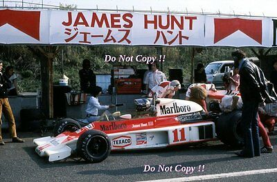James Hunt McLaren M23 Japanese Grand Prix 1976 Photograph 3