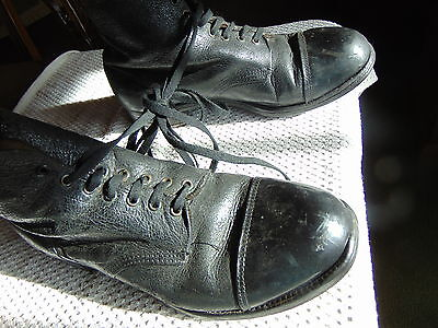 British Army Military Hobnail Boots Size 11